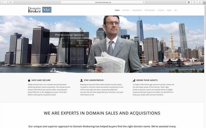 Domain Broker NYC